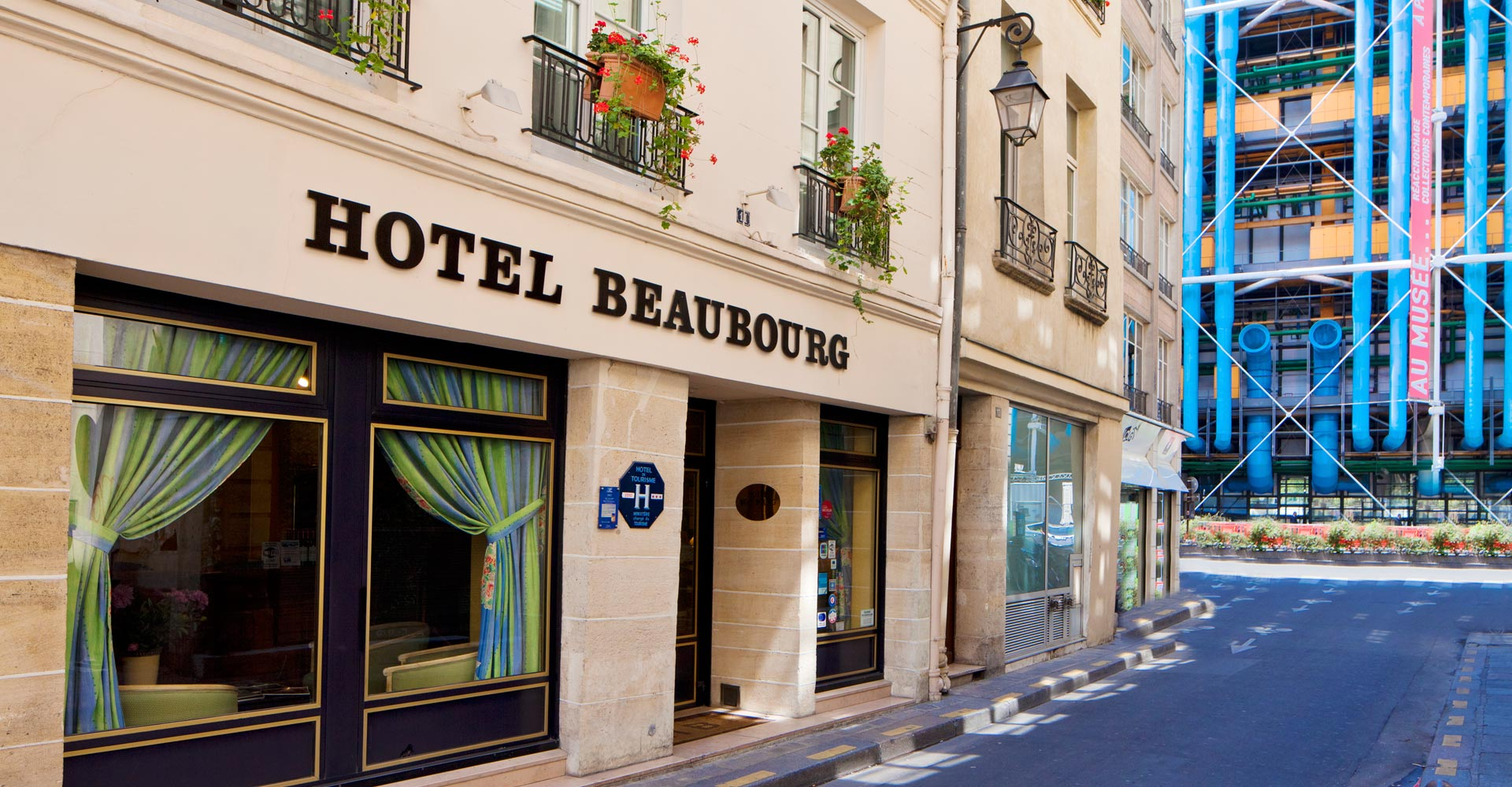 Hotel Beaubourg Paris Marais